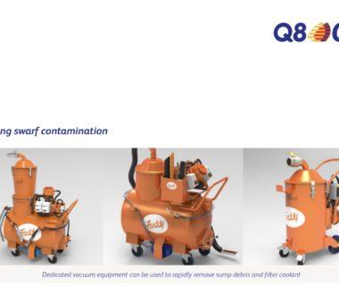 Q8Oils doporučuje stroje Freddy